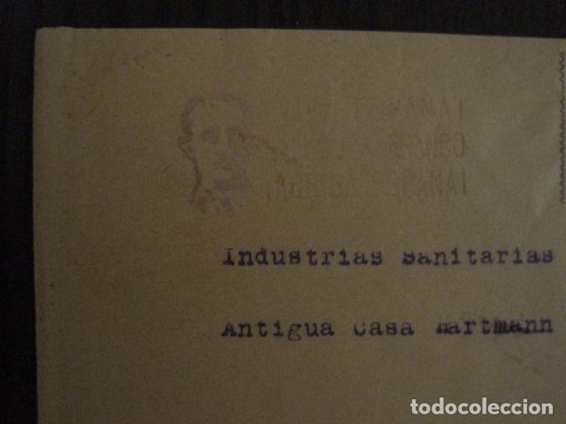 Sellos: CENSURA MILITAR LEON - PARO OBRERO -VIVA ESPAÑA -CARTA - VER FOTOS - (V-12.664) - Foto 3 - 103316859