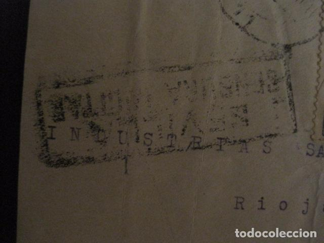 Sellos: CENSURA MILITAR SEVILLA - AUXILIO INVIERNO -CARTA - VER FOTOS - (V-12.665) - Foto 4 - 103317515