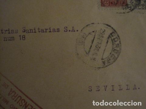 Sellos: CENSURA MILITAR DE CORREOS DE CORDOBA -PRO BENEFICIENCIA CORDOBA - VER FOTOS - (V-12.667) - Foto 3 - 103318563