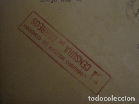 Sellos: CENSURA MILITAR DE CORREOS DE CORDOBA -PRO BENEFICIENCIA CORDOBA - VER FOTOS - (V-12.667) - Foto 4 - 103318563