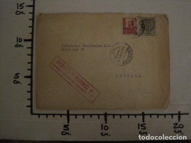 Sellos: CENSURA MILITAR DE CORREOS DE CORDOBA -PRO BENEFICIENCIA CORDOBA - VER FOTOS - (V-12.667) - Foto 6 - 103318563