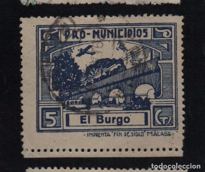 BENARRABAS, -MALAGA- 5 CTS. -PRO MUNICIPIOS, ALLEPUZ Nº 2 VER FOTO (Sellos - España - Guerra Civil - De 1.936 a 1.939 - Usados)