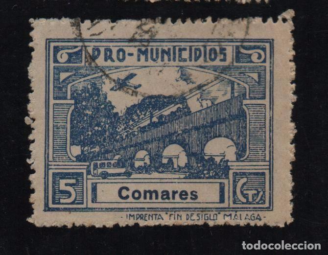 COMARES, -MALAGA- 5 CTS. -PRO MUNICIPIOS, ALLEPUZ Nº 2 VER FOTO (Sellos - España - Guerra Civil - De 1.936 a 1.939 - Usados)