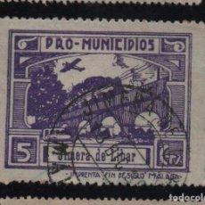 Sellos: JIMERA DE LIBAR, -MALAGA- 5 CTS. -PRO MUNICIPIOS, ALLEPUZ Nº 4 VER FOTO. Lote 103322927