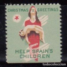 Sellos: VIÑETA - HELP SPAIN´S CHILDRES - , . Lote 103342739