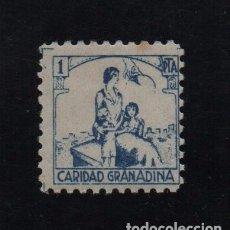 Sellos: GRANADA, 1 PTA, CARIDAD GRANADINA, ALLEPUZ Nº 26, VER FOTO. Lote 103392171