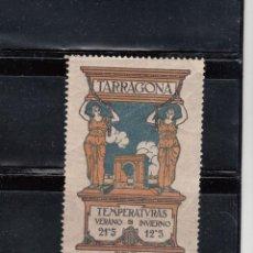 Sellos: TARRAGONA. TEMPERATURAS. Lote 103672687