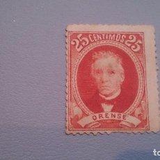 Selos: VIÑETA - ANTIGUA VIÑETA - ORENSE - MH* NUEVA CON FIJASELLOS.. Lote 123633926