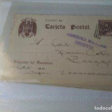 Sellos: GUERRA CIVIL ENTERO POSTAL 1938 CENSURA MILITAR SEGOVIA. Lote 104016339