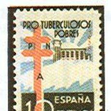 Sellos: AÑO 1938 (866)PRO TUBERCULOSOS (NUEVO). Lote 104092343