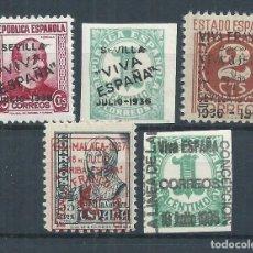 Sellos: R25/ ESPAÑA, LOTE LOCALES PATRIOTICOS, NUEVOS **/*. Lote 104161863