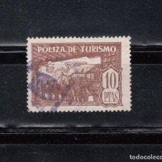 Sellos: POLIZA DE TURISMO. 10 PTAS.. Lote 104210895