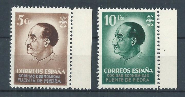 R26.G1/ ESPAÑA NUEVOS ** 1937, FUENTE DE PIEDRA. COCINAS ECONOMICAS (Sellos - España - Guerra Civil - De 1.936 a 1.939 - Nuevos)