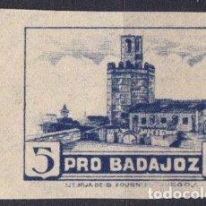 Sellos: WP619 ESPAÑA SPAIN GUERRA CIVIL BADAJOZ S/D PAPEL DELMEINA. Lote 104767943