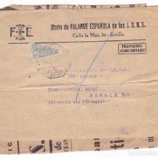 Sellos: F22-44-FALANGE.FRONTAL PAQUETE DIARIO DE FALANGE. FRANQUEO FISCAL BISECTADO. AMBULANTE. Lote 105048919
