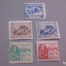 Sellos: VIÑETAS - SELLOS - GUERRA CIVIL - CRUZADA CONTRA EL FRIO - MNH** - NUEVOS - EJERCITO DEL NORTE.1936.. Lote 105051507