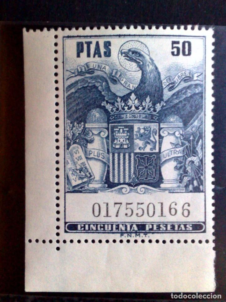SELLO-TIMBRE MOVIL **(MNH) DE 50 PESETAS,MINT (Sellos - España - Guerra Civil - De 1.936 a 1.939 - Nuevos)