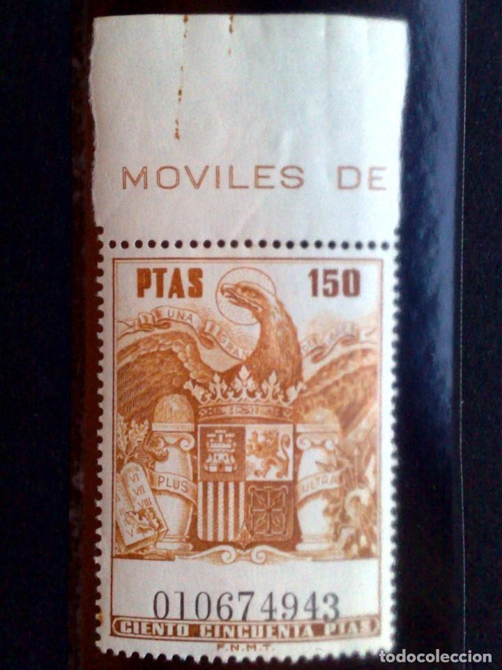 SELLO-TIMBRE MOVIL **(MNH) DE 150 PESETAS,MINT (Sellos - España - Guerra Civil - De 1.936 a 1.939 - Nuevos)