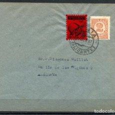 Sellos: SOBRE FILATÉLICO CON LOCAL DE DENIA ALLEPUZ 16, 1937. Lote 105206307