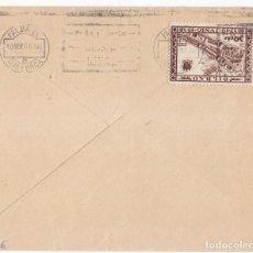 Sellos: SOBRE DE BILBAO. VIZCAYA. PAÍS VASCO. CON SELLO LOCAL DE BILBAO MATASELLADO EN MALLORCA A LA LLEGADA. Lote 105346739