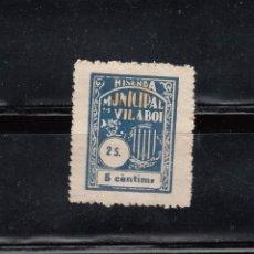 Sellos: HISENDA MUNICIPAL DE VILABOI. 2 SERIE. 5 CTS.. Lote 105652027