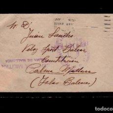 C10-10-22 Guerra Civil Historia Postal carta circulada el 19 de Abril de 1937 con sello de FRANQUIC