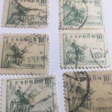 Sellos: CID CAMPEADOR EDIFIL CON PIE DE IMPRENTA NÚMERO 817. Lote 107742456
