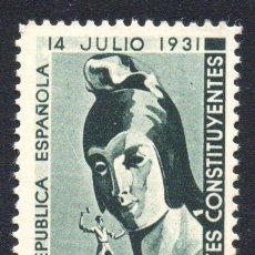 Sellos: ESPAÑA. FRANQUICIA POSTAL. CORTES CONSTITUYENTES, EN NUEVO. Lote 107769159