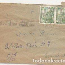Sellos: CARTA DE SEVILLA A SEVILLA CON PAREJA DE EDIFIL 1025.. Lote 107787163