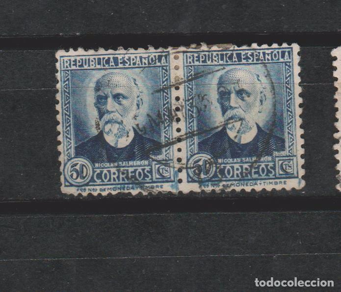 LOTE Z 2 SELLOS ESPAÑA (Sellos - España - Guerra Civil - De 1.936 a 1.939 - Usados)
