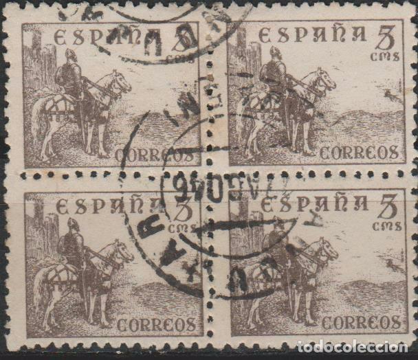 LOTE D 2 SELLOS ESPAÑA BONITO FRANQUEO (Sellos - España - Guerra Civil - De 1.936 a 1.939 - Usados)