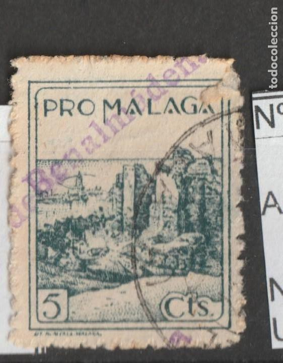 SELLO PRO MALAGA DE BENALMADENA (Sellos - España - Guerra Civil - De 1.936 a 1.939 - Usados)