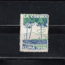 Sellos: LA CORUÑA. CLIMA IDEAL. Lote 109098007