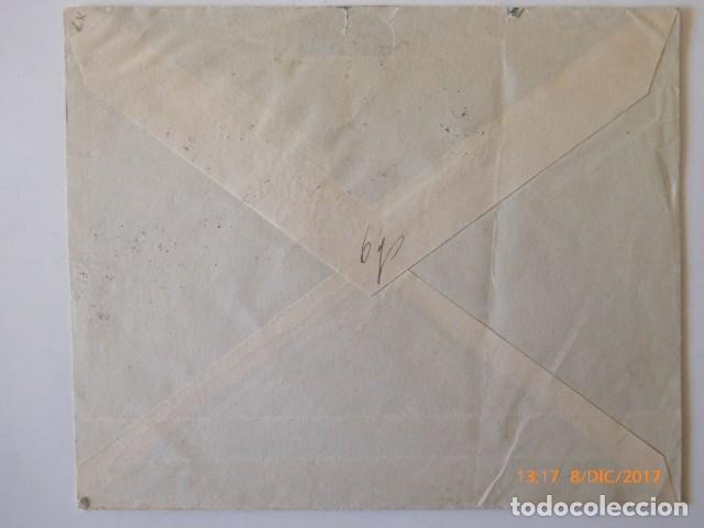 Sellos: carta censura militar, de malaga. franqueo combinado republica, a zurich, 1937 - Foto 2 - 109143111