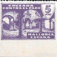 Sellos: MALLORCA. CRUZADA CONTRA EL PARO. 5 PTS **.MNH ( 18-21). Lote 110285579
