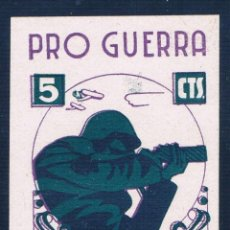 Sellos: GUERRA CIVIL SELLO LOCAL PRO GUERRA RODA 5 CTS * 001LOT. Lote 111109323
