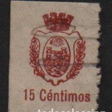 Sellos: SAN FERNANDO- CADIZ- 15 CTS, CORONA MURAL - ALLEPUZ Nº 1, VER FOTO. Lote 111416131