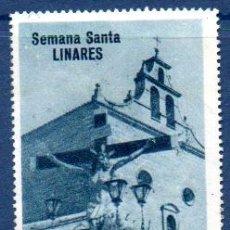 Sellos: ESPAÑA.- VIÑETA SEMANA SANTA DE LINARES. Lote 112269423