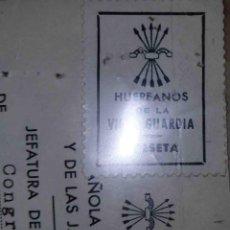 Sellos: HUÉRFANOS DE LA VIEJA GUARDIA. MADRID. 1950.. Lote 113025075