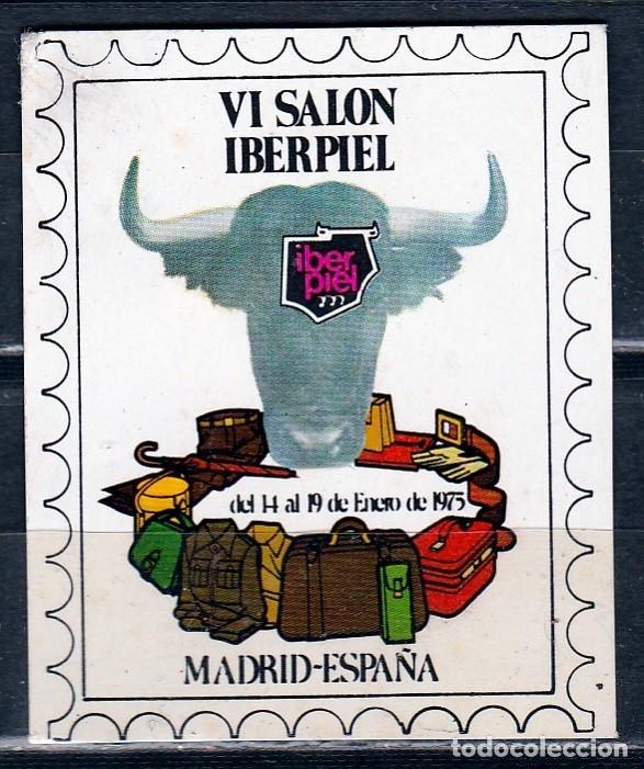 1975. VI SALON INTERNACIONAL IBERPIEL. MADRID 1975.VIÑETA (18-85) (Sellos - España - Guerra Civil - Viñetas - Nuevos)