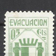 Sellos: 5995-SELLO VIÑETA ESPAÑA GUERRA CIVIL EVACUACIÓN DE MADRID,REPUBLICA,SELLO ANTIFASCISTA,NUEVO **.SPA. Lote 113278619