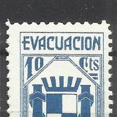 Sellos: 5996-SELLO VIÑETA ESPAÑA GUERRA CIVIL EVACUACIÓN DE MADRID,REPUBLICA,SELLO ANTIFASCISTA,NUEVO **.SPA. Lote 113278655