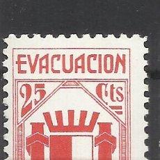 Sellos: 5998-SELLO VIÑETA ESPAÑA GUERRA CIVIL EVACUACIÓN DE MADRID,REPUBLICA,SELLO ANTIFASCISTA,NUEVO **.SPA. Lote 113278687
