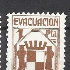 Sellos: 6000-SELLO VIÑETA ESPAÑA GUERRA CIVIL EVACUACIÓN DE MADRID,REPUBLICA,SELLO ANTIFASCISTA,NUEVO **.SPA. Lote 113278859