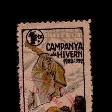 Francobolli: F4-6 GUERRA CIVIL CAMPANYA D'HIVERN - 1938-1939 - 1 PTA. USADO. Lote 113445227