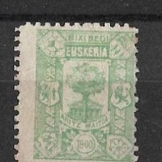 Stamps - Euzkadi - Euskadi - País Vasco. Año 1900 Verde S/C - 113583867