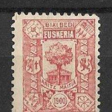 Stamps - Euzkadi - Euskadi - País Vasco. Año 1900 Rojo S/C - 113583959