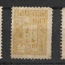 Stamps - Sellos de Euskadi- Euzkadi- Pais Vasco. Año 1900. Irurak bat - 113585227