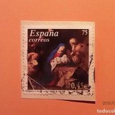 Sellos: ESPAÑA 2001 - NAVIDAD - ADORACION DE LOS PASTORES -- JOSE DE RIBERA.. Lote 113842611
