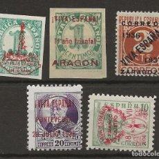 Sellos: R30/ ESPAÑA, LOTE LOCALES PATRIOTICOS, NUEVOS */(*). Lote 114172851